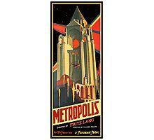 Metropolis Movie Poster -Type C Photographic Print