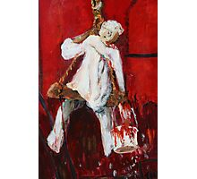 Red Fort Painter - Painting Photographic Print