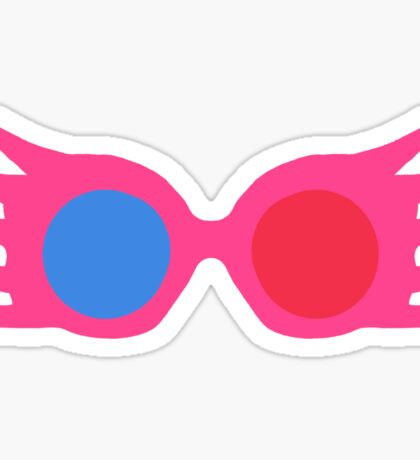 specs pattern Sticker