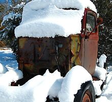 Snow covered rust by GWGantt
