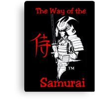 """SAMURAI""  by Carter L. Shepard Canvas Print"