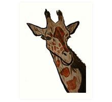 """Giraffe""  by Carter L. Shepard Art Print"