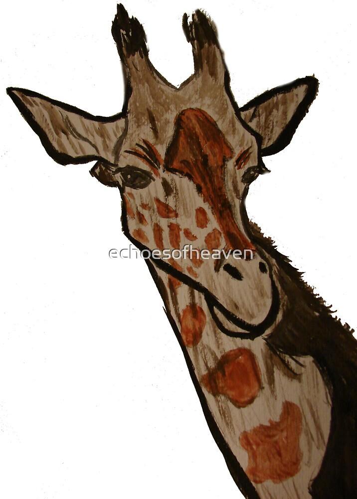 """Giraffe""  by Carter L. Shepard by echoesofheaven"