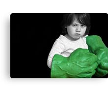 Don't mess with me! Canvas Print