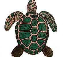 """Turtle""  by Carter L. Shepard by echoesofheaven"