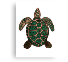 """""""Turtle""""  by Carter L. Shepard Canvas Print"""