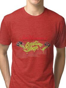 Jim Henson's Creature Shop from TMNT2 Ninja Turtles Tri-blend T-Shirt