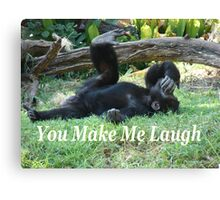 """You Make Me Laugh""  by Carter L. Shepard Canvas Print"