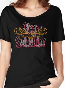 Stop Snitchin'  Women's Relaxed Fit T-Shirt