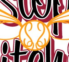 Stop Snitchin'  Sticker
