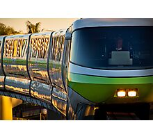 Monorail Monday - The Human Element Photographic Print
