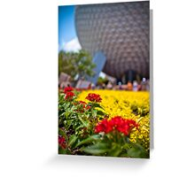 Springtime In EPCOT Greeting Card