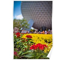 Springtime In EPCOT Poster