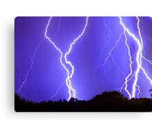 Power Raining Down Canvas Print