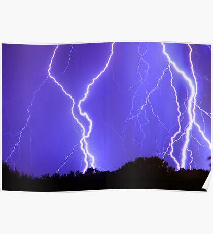 Power Raining Down Poster
