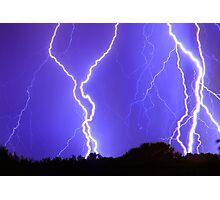 Power Raining Down Photographic Print