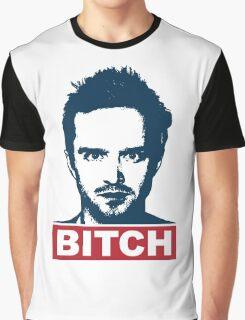 BREAKING BAD JESSE PINKMAN BITCH Graphic T-Shirt