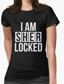 Sherlocked - white text T-Shirt