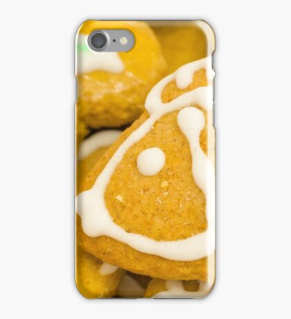 Christmas Cookie with Fish Decoration iPhone Case/Skin