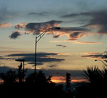 Twilight in Santa Fe, NM by NovaCynthia