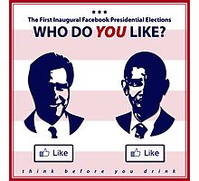Who Do You Like? (Future of Presidential Elections) Photographic Print