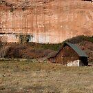 Old Barn in the Desert #2 by KelseyGallery