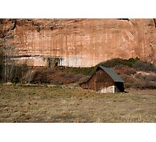 Old Barn in the Desert #2 Photographic Print