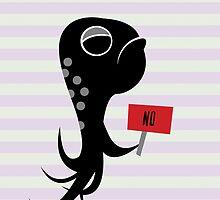 Squid of No by makoshark
