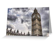 Big Ben goes Gothic Greeting Card