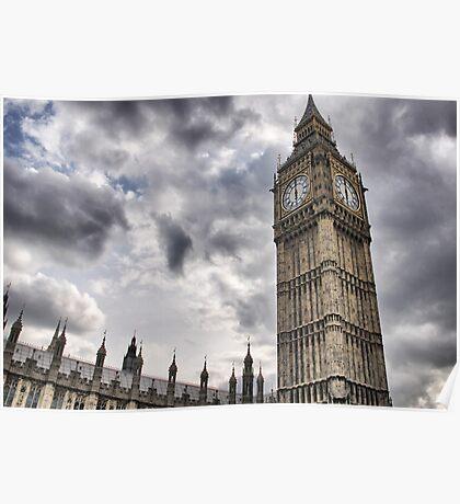 Big Ben goes Gothic Poster