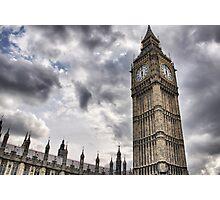 Big Ben goes Gothic Photographic Print