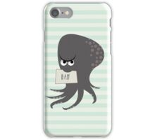 Squid of Contempt iPhone Case/Skin