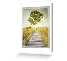 To the tree Greeting Card
