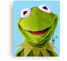Mr. the Frog Canvas Print