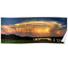 Sunset Cloud Poster