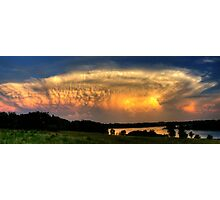 Sunset Cloud Photographic Print