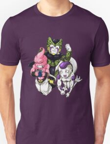 Cell, Frieza and Super Buu T-Shirt