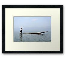 My Myanmar Framed Print