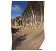 Wave Rock Poster