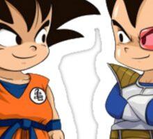 Son Goku Son Vegeta Sticker