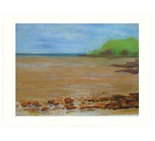 Hestan Island, SW Scotland Art Print