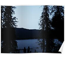 Lake Wenatchee Sunset Poster