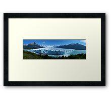 Summer Glacier, Patagonia Framed Print