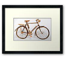 Willow Bike Self Portrait. Framed Print