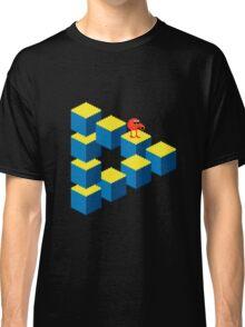 Q*bert - pixel art Classic T-Shirt