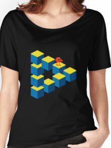 Q*bert - pixel art Women's Relaxed Fit T-Shirt