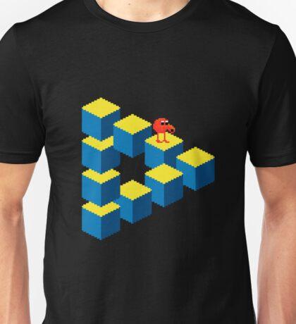 Q*bert - pixel art Unisex T-Shirt