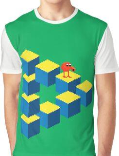 Q*bert - pixel art Graphic T-Shirt