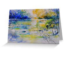 watercolor 217082 Greeting Card