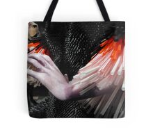 Straws and Hand Tote Bag